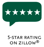 5-start rating on zillow